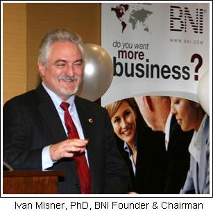 Ivan Misner, PhD, BNI Founder